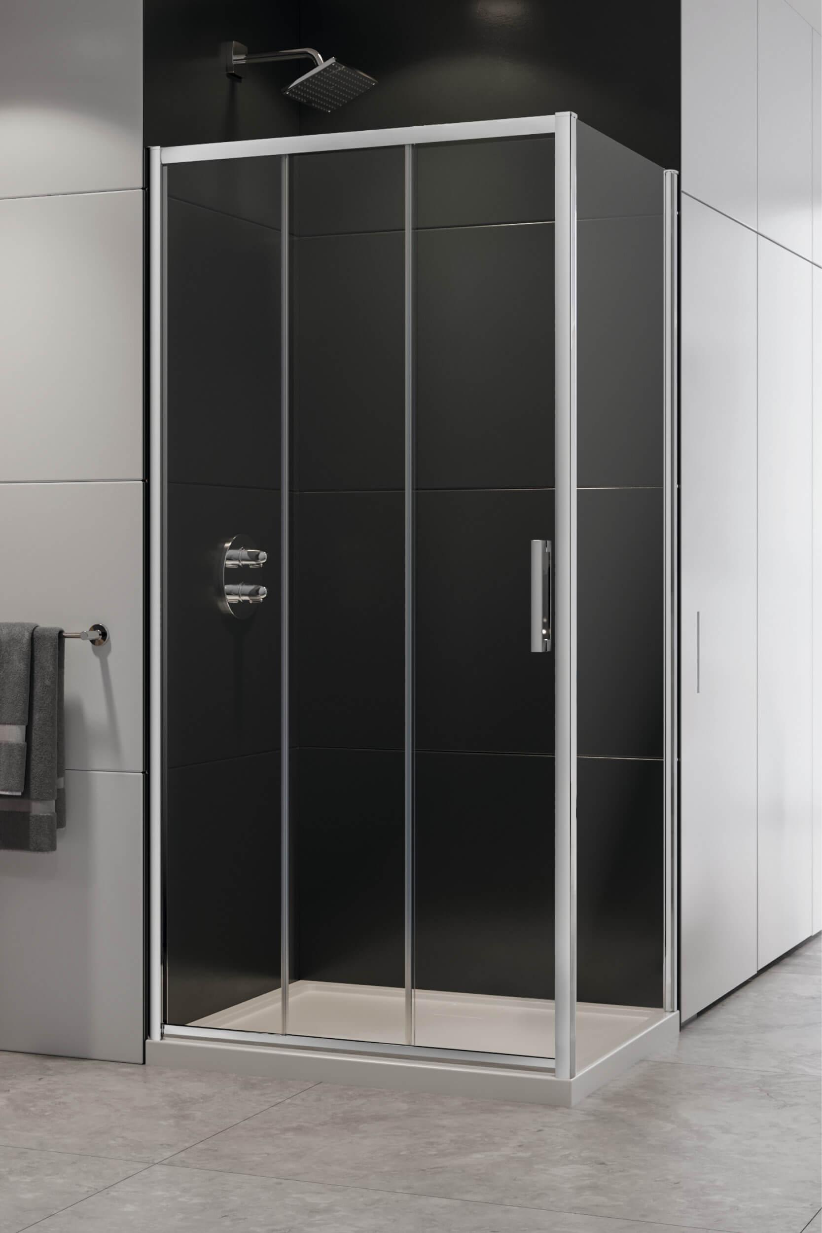 Kabina prysznicowa 90x90 Alta III z drzwiami przesuwnymi