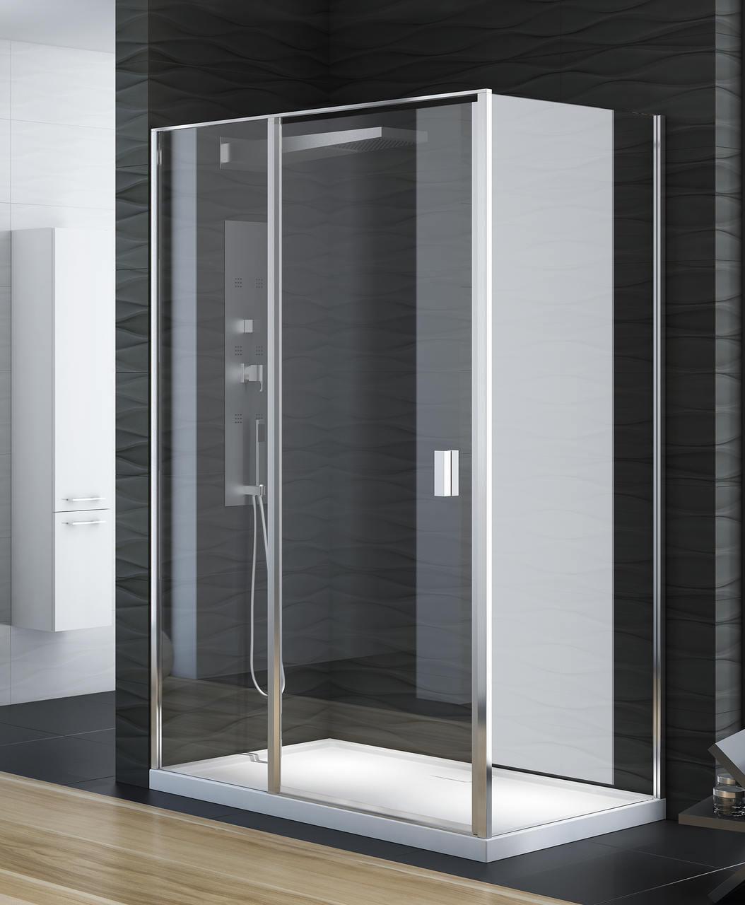 Kabina prysznicowa Perfecta 90x90 prostokątna z drzwiami uchylnymi EXK-1168/EXK-1189