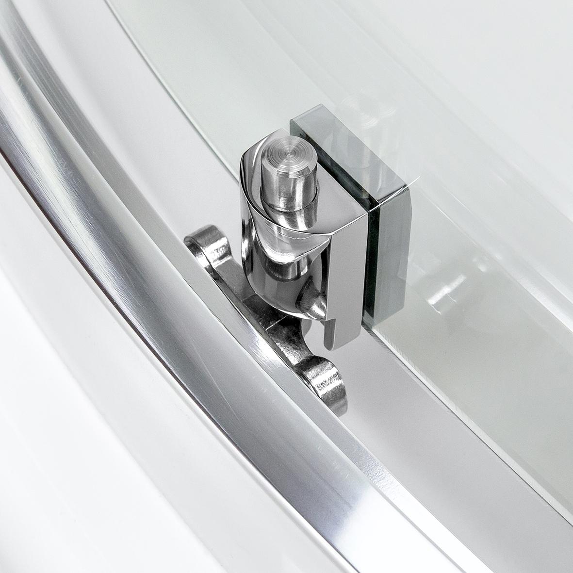 Kabina prysznicowa 100x80 drzwi przesuwne