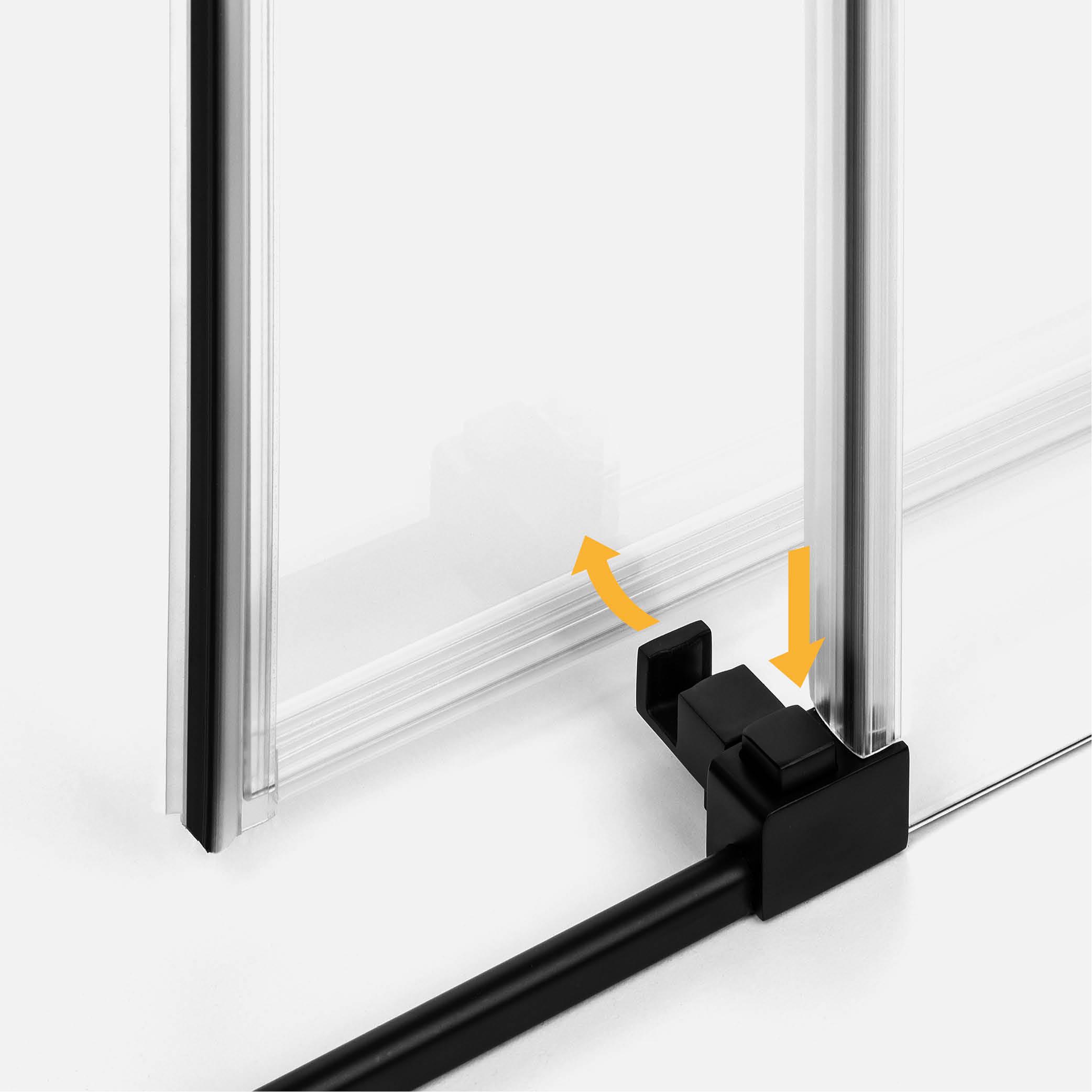Drzwi z funkcją łatwego wypinania
