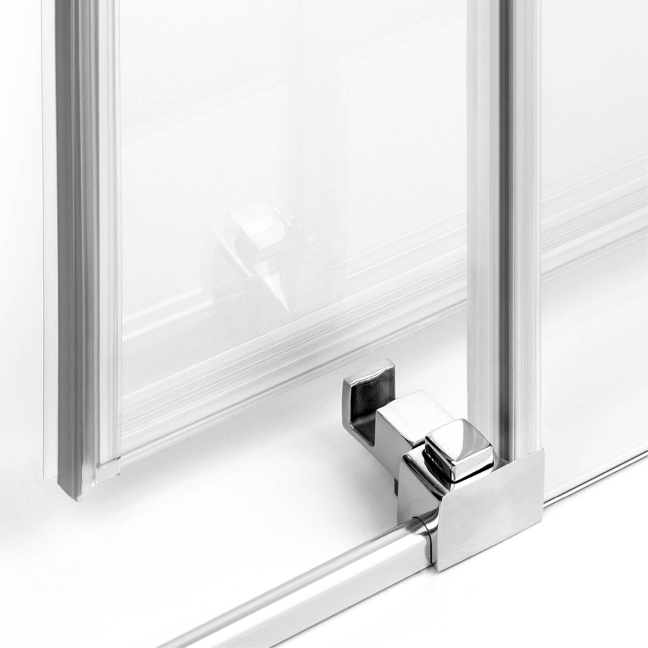 Wypinanie drzwi ułatwia montaż oraz pielęgnację kabiny