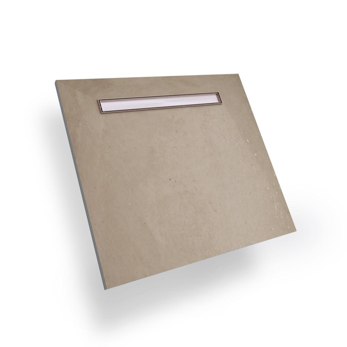 Płyta prysznicowa 80x80 Wiper Showerlay