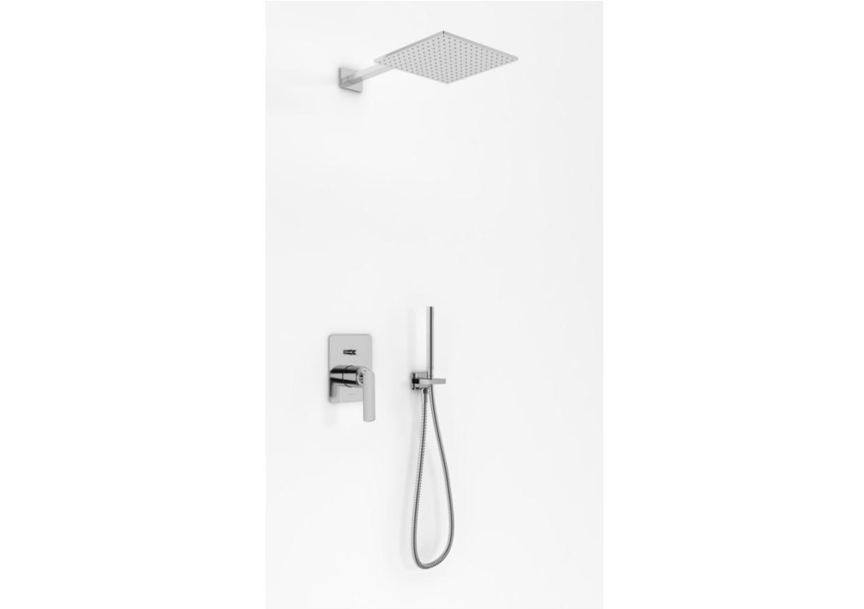 Podtynkowy zestaw prysznicowy Experience z kwadratową deszczownicą