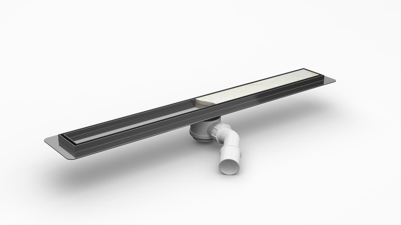 Odpływ liniowy marki Wiper z syfonem 60 cm.