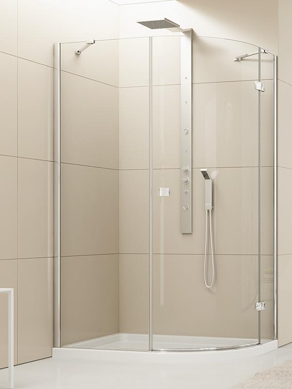 Kabina prysznicowa Eleganta asymetryczna 120x85