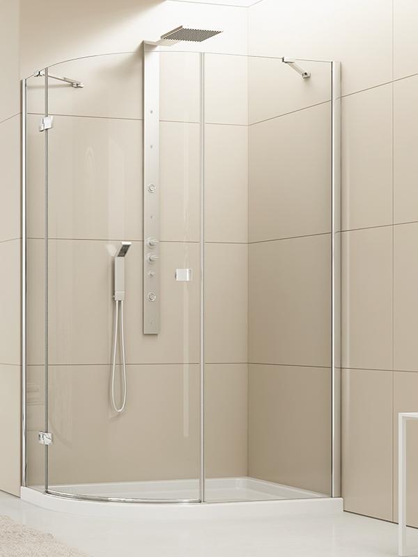 Kabina prysznicowa Eleganta asymetryczna 120x85 EXK-1023