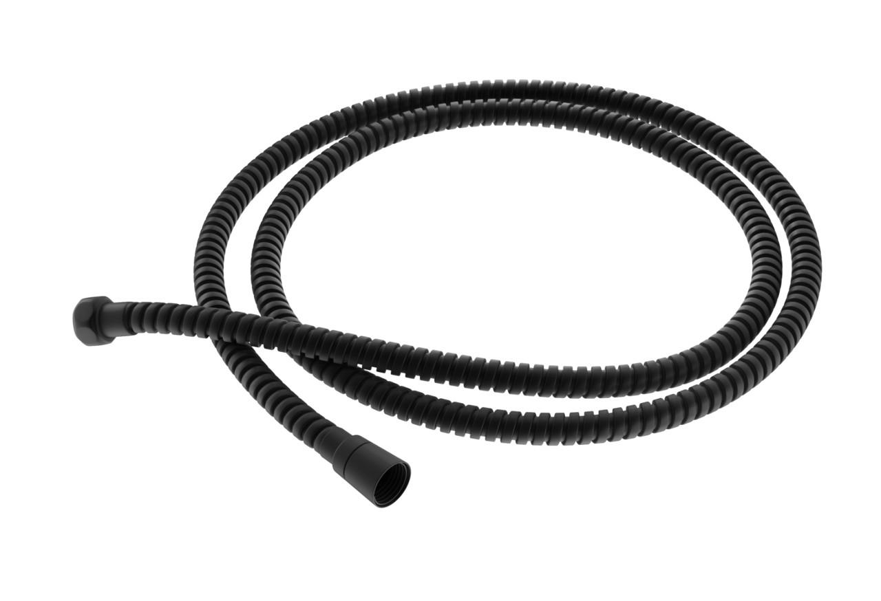 Wąż prysznicowy czarny o dł. 150cm