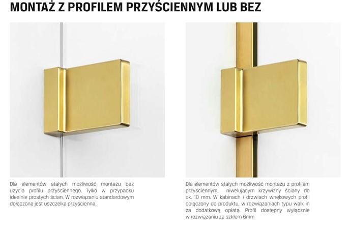 kabina prysznicowa 70 cm Avexa Gold